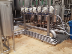 CIP room (soda distribution system)