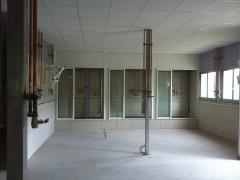 Montaje de tuberías para laboratorio