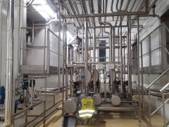 Montaje de tuberías, manifold y CIP
