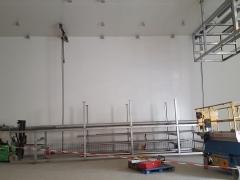 Préparation installation de racks