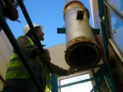 Travaux de démontage des installations