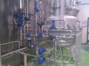 Colector y circuito de vapor