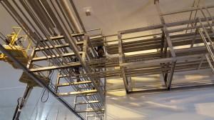 Assemblage mecánique de racks